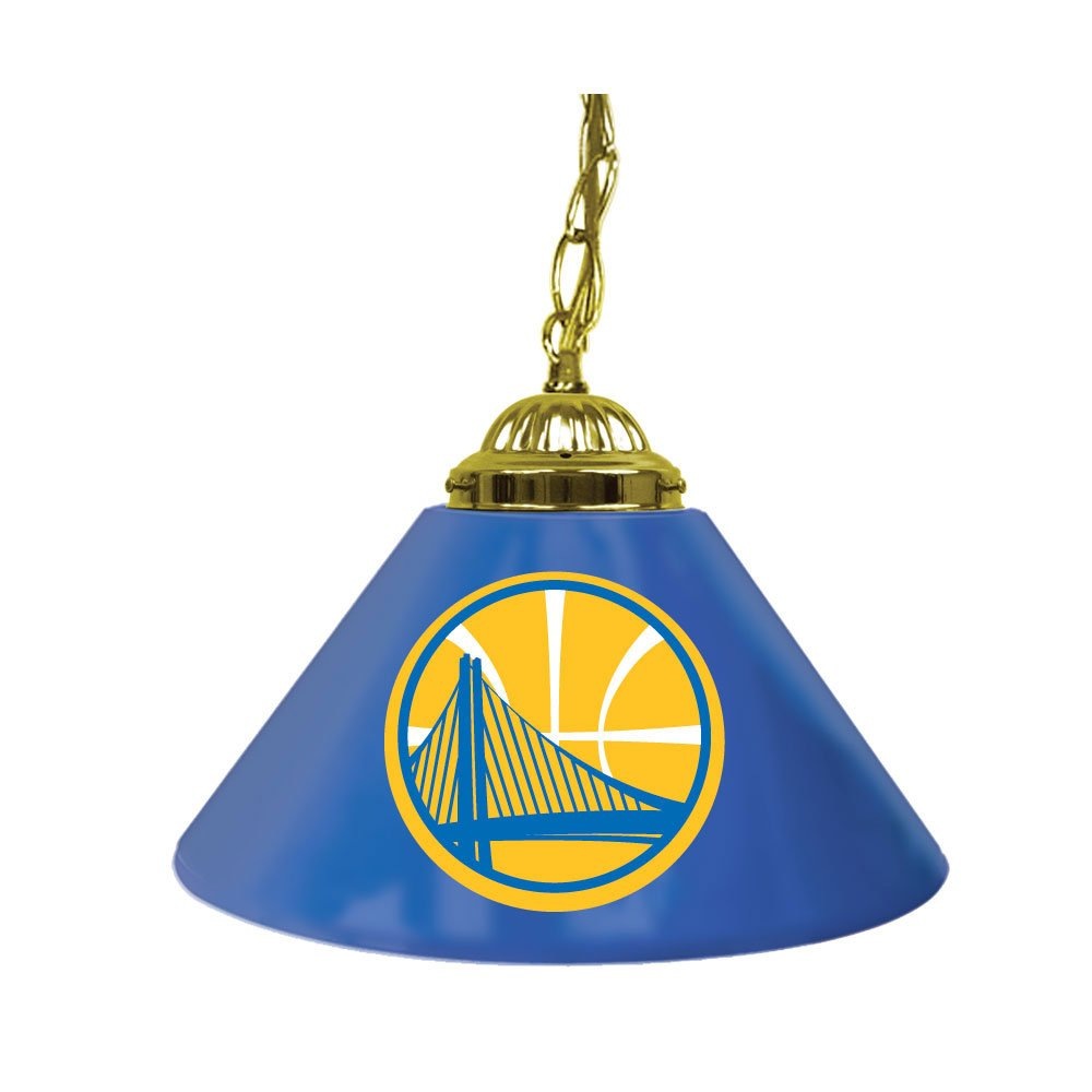 NBA Golden State Warriors Single Shade Gameroom Lamp, 14''