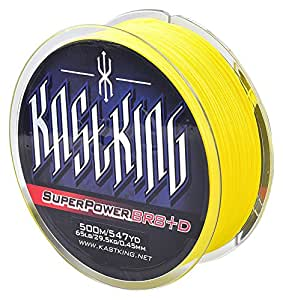 Kastking superpower high vis yellow braided for Amazon fishing line