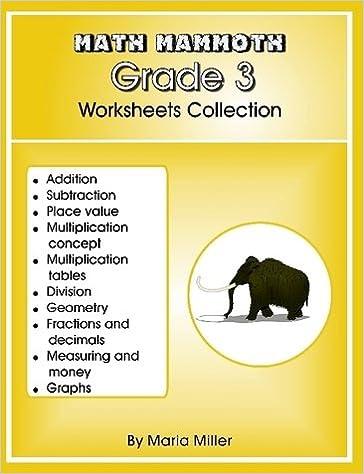 Workbook 3 grade worksheets : Math Mammoth Grade 3 Worksheets Collection: Amazon.com: Books