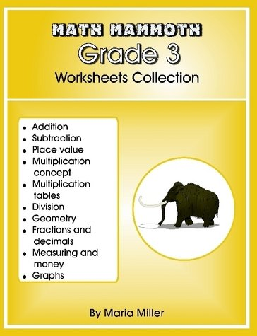 Math Mammoth Grade 3 Worksheets Collection: Amazon.com: Books