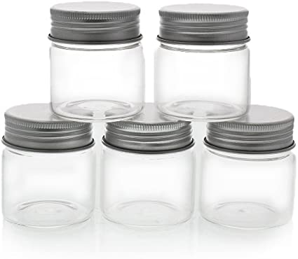Jars with lids