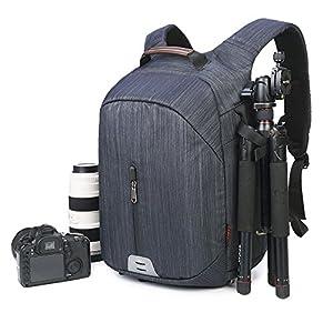 Large Capacity Camera Bag Backpack Waterproof Hiking Travel Bag SLR DSLR Camera Shoulder Bags Backpack Rucksack for Nikon Canon Fujifilm Sony Digital SLR, Mirrorless Camera from Beaspire