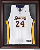 Los Angeles Lakers Mahogany Finished Logo Jersey Display Case