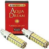 AQUA DREAM 【アクアドリーム】 プラチナLEDランプ 【 78連 T10/T16対応 超高輝度 】 2本セット AQ-L002