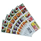 100 Botanical Art USPS Forever First Class Postage Stamps Beautiful Flower Bloom