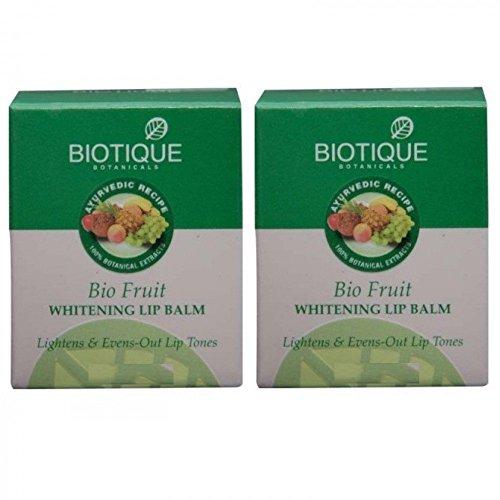 (Biotique Bio Fruit Whitening Lip Balm - 12g (Pack of 2))