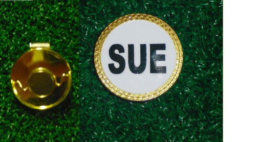 Gatormade Personalized Golf Ball Marker & Hat Clip Sue