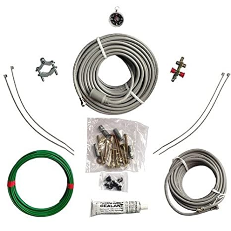 Amazon.com: Satellite Antenna Installation Kit Universal ...