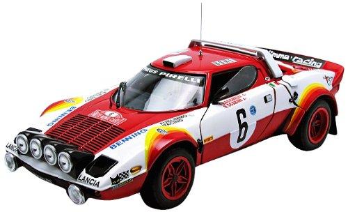 ★ サンスター (1/18) ランチア ストラトス HF Rally 79 モンテカルロラリー #6 F.Bacchelli/B.(4527) ミニカーの商品画像