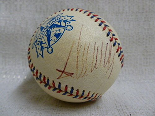President Of The Usa Donald Trump Autographed Signed 1995 All Star Game Baseball JSA Authentic Z08507