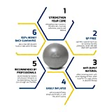 Mini Exercise Ball - 9 Inch Small Bender Ball for