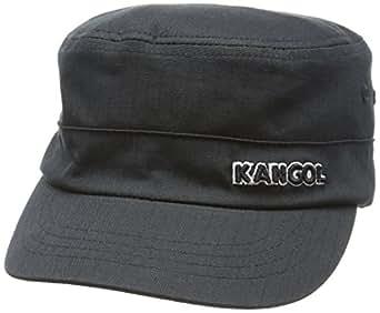 Kangol Men's Ripstop Army Cap Black Flexfit Hat Sz. S/M