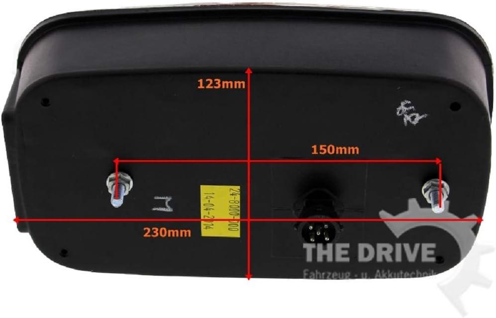 The Drive 11400 Multipoint 3 Iii Satz Rechts Links Mit Nsl Und Rfs Rückleuchten Auto