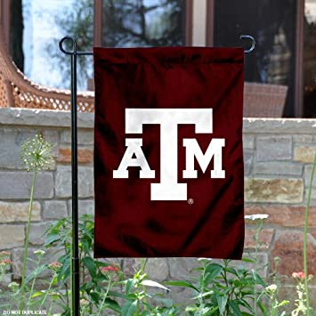texas au0026m garden flag and yard banner