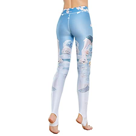 TBATM Leggings de Fitness para Mujer, Tela de Lycra de Alta ...