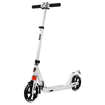 SmartLife Patinete Scooter de Altura Plegable y Pie ...