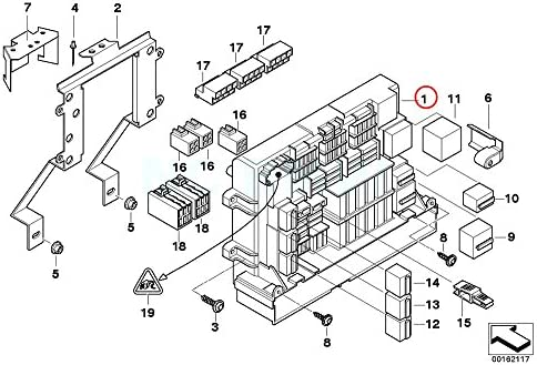 Amazon Com Bmw Genuine Front Power Distribution Box Automotive