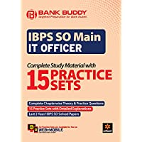IBPS SO Main IT Officer Complete Study Material with 15 Practice Sets