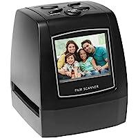 "Festnight Protable Negative Film Scanner 35mm 135mm Slide Film Converter Photo Digital Image Viewer with 2.4"" LCD Build-in Editing Software-Black"