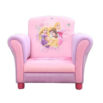 Pequeño Niña Sillón, Mini Sofá para Niños, Tema Princesa ...