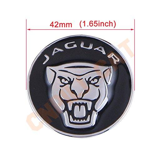 9e84feb3 Exotic Store JG-42B 42 MM Metal (not Plastic) Modified Car Gear Shift Knob  Cover Emblem Sticker for Jaguar F-Pace XJ XE XF Gear Shift Knob shifter ...