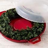 "IRIS USA, Inc WB-24 24"" Holiday Wreath"