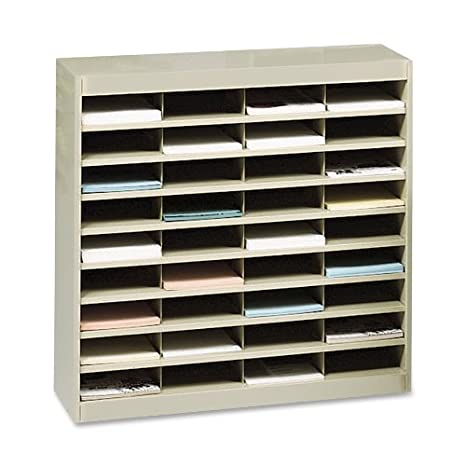 amazoncom safco products 9221tsr ez stor literature organizer 36 letter size tropic sand office products