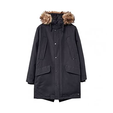1ba9ff0f6e9 Parka London Long WR Mens Parka L Black: Amazon.co.uk: Clothing