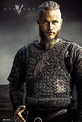 Grindstore GB Eye, Vikings, Ragnar Lothbrok, Maxi Poster, 61x91 ...