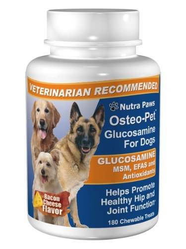 Osteo-Pet Glucosamine w EFA and MSM, 180 Count