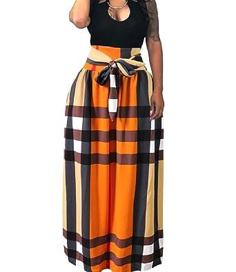 Andopa Más-Tamaño Digital Print africana con cinturón de tobillo ...