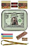 Bundle - 10 Items - Wiz Khalifa Limited Edition RAW Rolling Tray ''Large'' with Wiz Khalifa King Size Rolling Paper with Tips and More