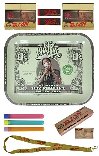 Wiz Khalifa Limited Edition RAW Rolling Tray