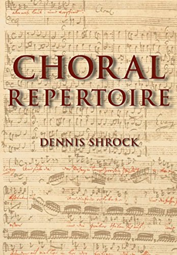 Download Choral Repertoire Pdf