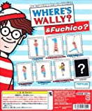 WHERE'S WALLY ? & Fuchico? Edge of the cup 3. Wally holding a cane capsule toy