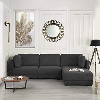 Amazon Com Modular Sectional Sofa Couch Convertible Sofa