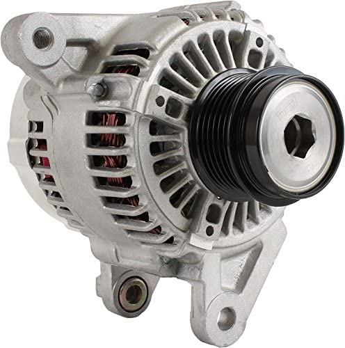 Wrangler 03 04 05 06 2003 2004 2005 2006 56044530AA 56044530AB 56044530AC 121000-3850 DB Electrical AND0258 New Alternator For 2.4L 2.4 Jeep Liberty 02 03 2002 2003 Tj Series 03 05 06 2003 2005 2006