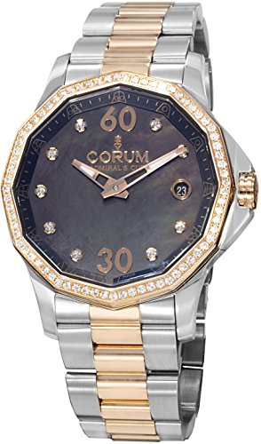 Corum Admirals Cup Legend 082.101.29/V200 PN10 38mm Automatic Multicolor Steel Bracelet & Case Anti-Reflective Sapphire Women's Watch