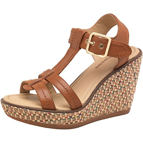 Uk Womens Tan Eur 3 Cores T Puppies Sandals Strap Hush Wedge Pw0Okn