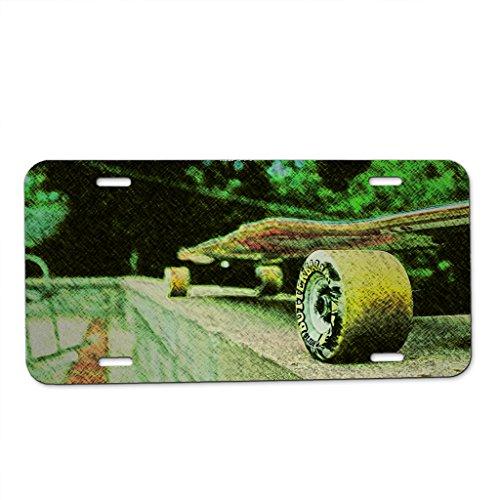 skateboard-longboard-car-tag-license-plate