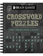 Brain Games - Crossword Puzzles (Chalkboard #2): Boost Your Brainpower in Minutes (Volume 2)