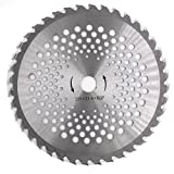 10'' 60T Carbide Circle Blade Brush Cutter Trimmer Weed Eater Blade (1 PCS)