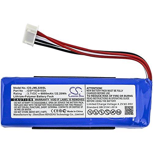 Bateria : Jbl Charge 3 Modelo 2016 3.7v 6000mah / 22.20wh (gsp1029102a)