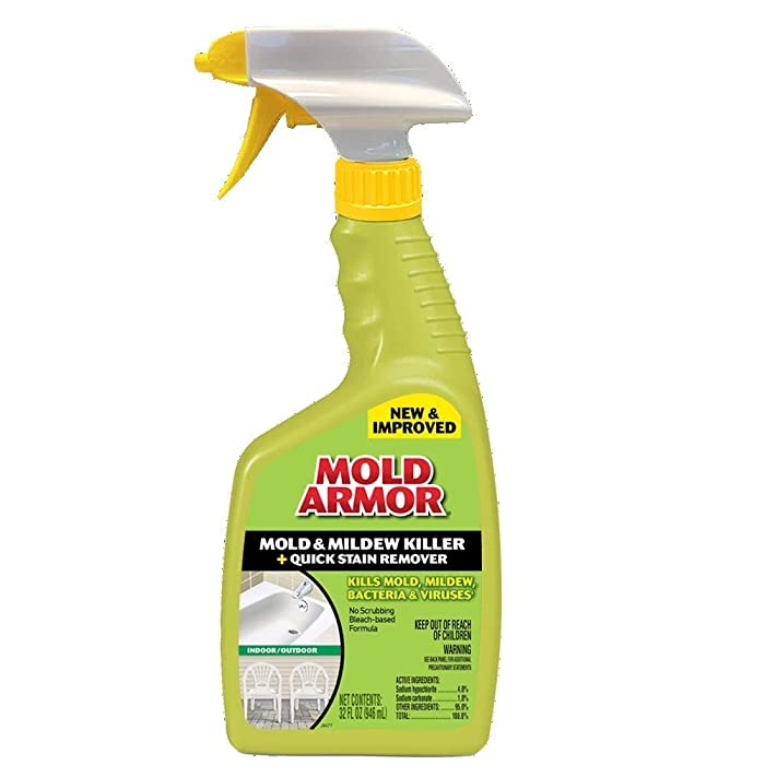 FG502 Instant Mold and Mildew Stain Remover, Trigger Spray