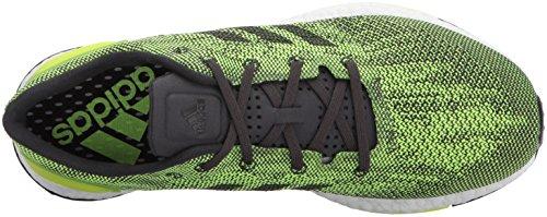 Adidas Originali Mens Pureboost Dpr Scarpa Da Corsa Utility Nero / Giallo Solare / Giallo Solare