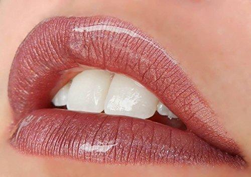 LipSense Trio (Mauve Ice) Lip Color, Glossy Gloss and Ooops Remover Set