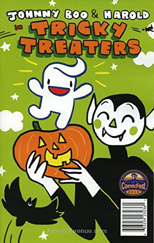 Johnny Boo & Harold in Tricky Treaters #Holiday Special 2012 VF/NM ; Top Shelf comic book