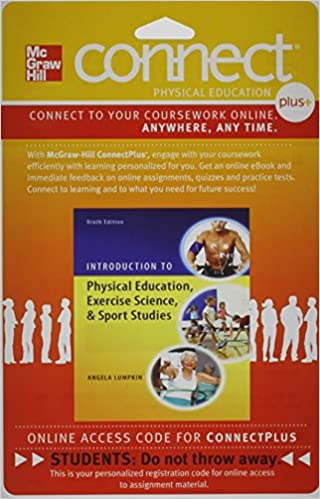 Introduction to Physical Education, 9th edition