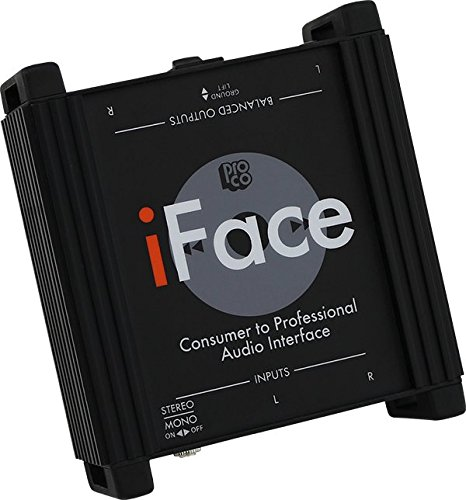 Pro Co Sound IFACE Interface - Direct Box Tool