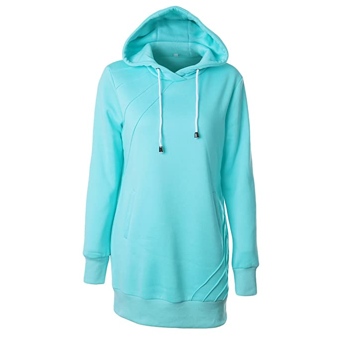 sports shoes 3d450 2b2dc YOUJIA Felpe Sportive Lunghe Particolari Donna Pullover ...